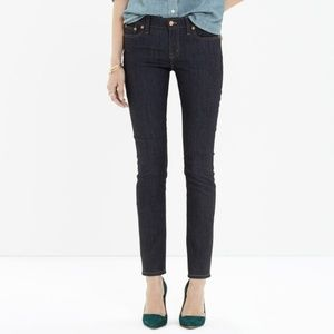 Madewell Alley Straight Jeans in Raw Wash